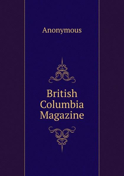 M. labbé Trochon British Columbia Magazine