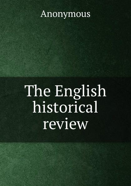 M. labbé Trochon The English historical review