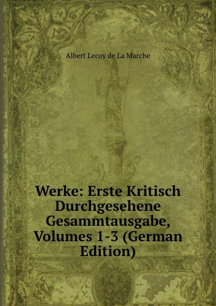 M. l'abbé Trochon Werke: Erste Kritisch Durchgesehene Gesammtausgabe, Volumes 1-3 (German Edition)