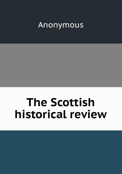 M. labbé Trochon The Scottish historical review