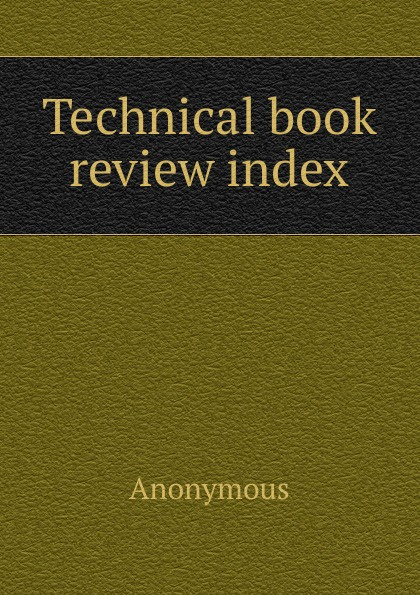 M. labbé Trochon Technical book review index