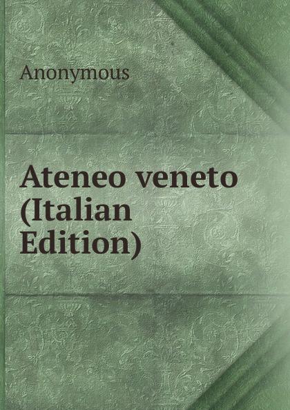 M. l'abbé Trochon Ateneo veneto (Italian Edition) m l abbé trochon i profeti nebiim ezechiele i dodici italian edition