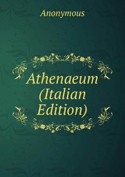 M. l'abbé Trochon Athenaeum (Italian Edition) m l abbé trochon i profeti nebiim ezechiele i dodici italian edition