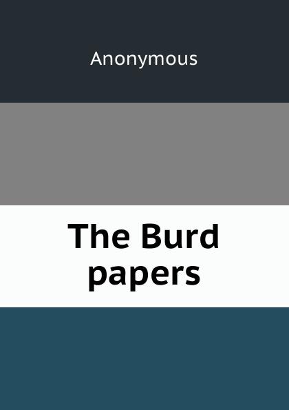 M. l'abbé Trochon The Burd papers barry burd java