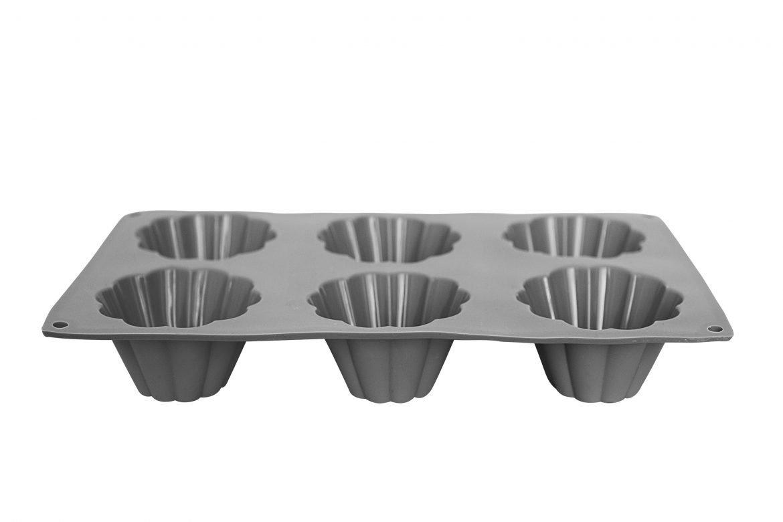 Форма для выпечки Migliores Для выпечки кексов и маффинов, черный формы для выпечки oursson форма для выпечки противень