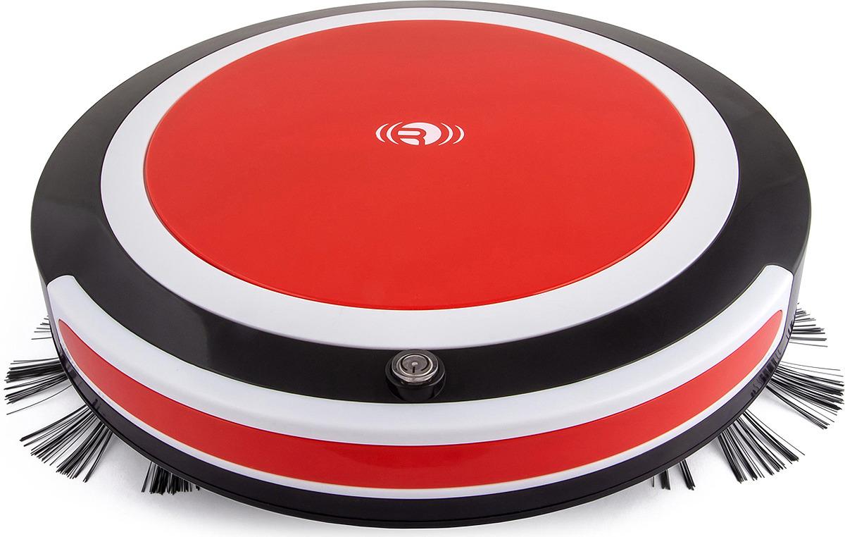 Робот-пылесос Rekam RVC-1600R, черный, красный