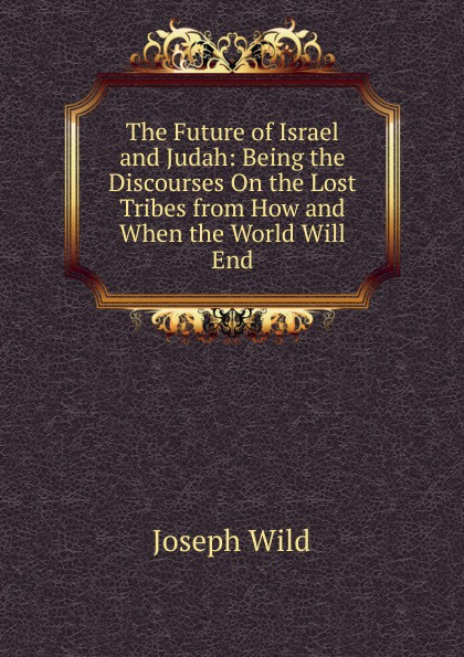 Joseph Wild The Future of Israel and Judah: Being the Discourses On the Lost Tribes from How and When the World Will End hegel the end of history and the future