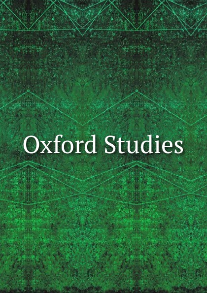 Oxford Studies oxford studies ancient philosophy