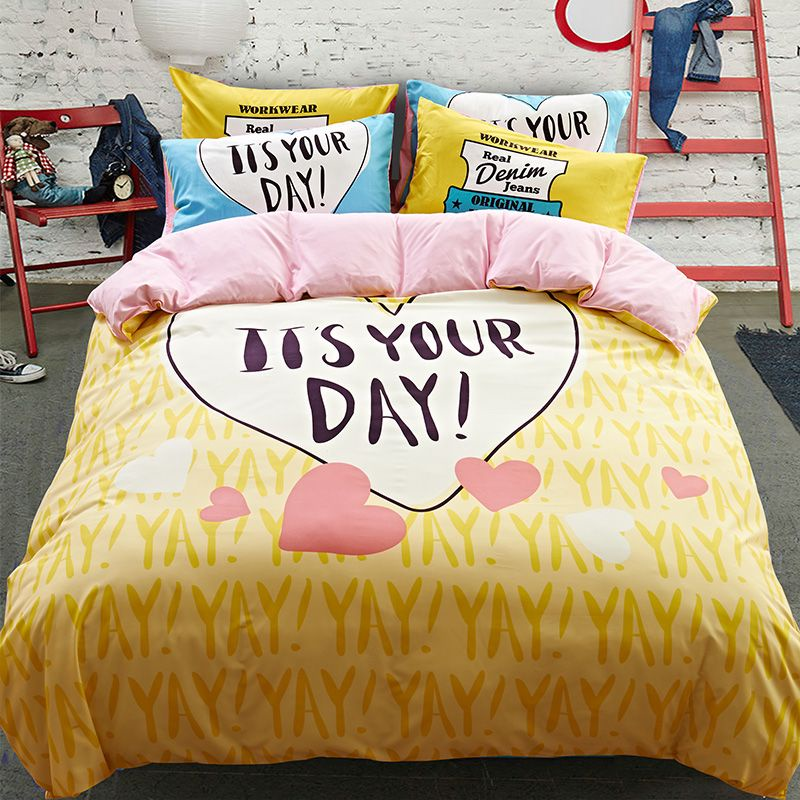 Комплект постельного белья Ситрейд CF001-2 50-70 2 спальный, наволочки 50-70 2 шт