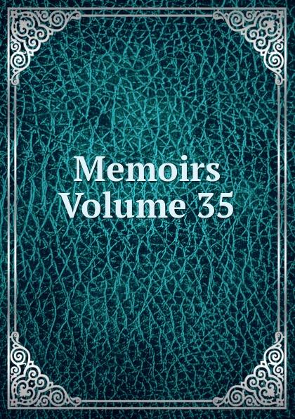 Memoirs Volume 35 цены