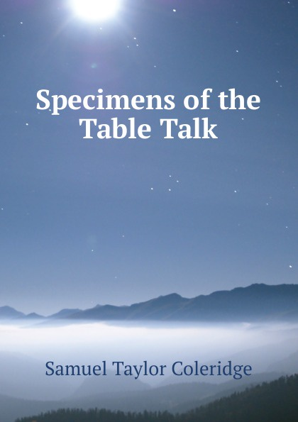 Specimens of the Table Talk