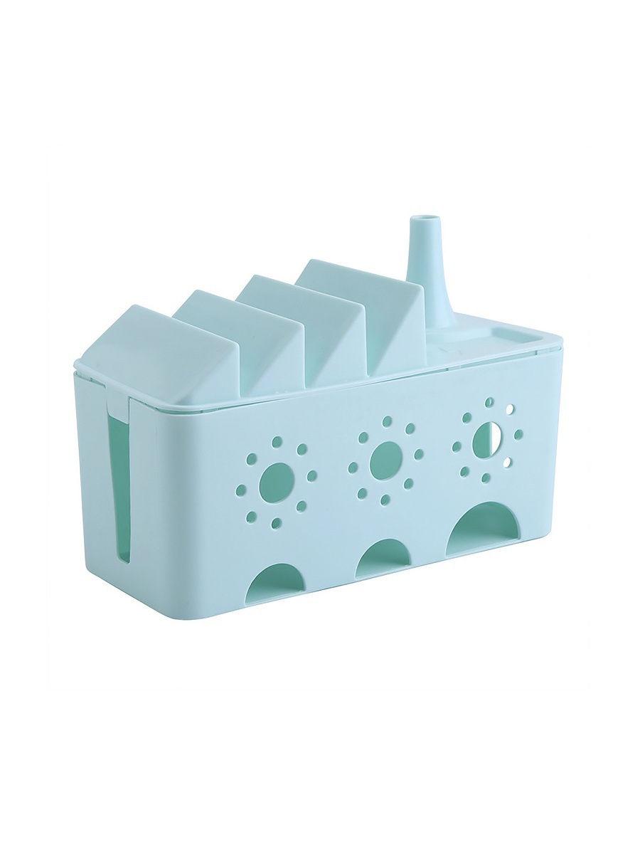 цены на Бокс для проводов Migliores Пластиковый органайзер для проводов, голубой  в интернет-магазинах