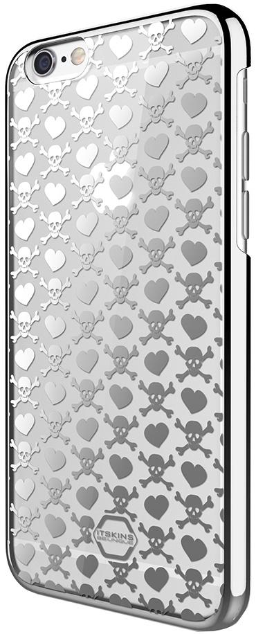 Чехол для сотового телефона Itskins KROM APH6-NKROM-SLVR для iPhone 6, серебристый аксессуар чехол накладка itskins для iphone 5c zero 3 пленка black 572610596