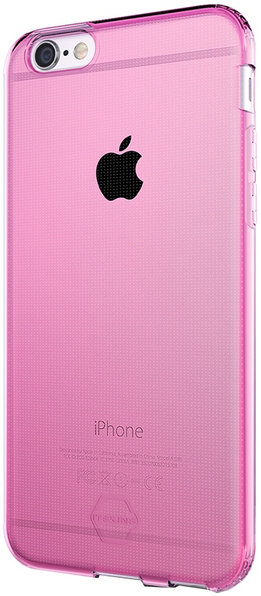 Чехол для сотового телефона Itskins Zero Gel для iPhone 6, розовый аксессуар чехол накладка itskins для iphone 5c zero 3 пленка black 572610596