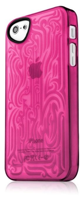 Чехол для сотового телефона Itskins Ink для iPhone 5/5s/SE, розовый аксессуар чехол накладка itskins для iphone 5 5s new phantom пленка graphic inkaa 926810541