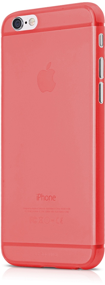 Чехол для сотового телефона Itskins Zero 360 для iPhone 6, красный аксессуар чехол накладка itskins для iphone 5c zero 3 пленка black 572610596