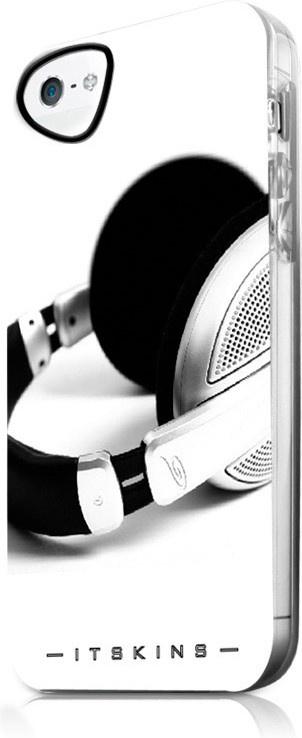 Чехол для сотового телефона Itskins Beats Phantom для iPhone 5/5s с защ.пленкой, белый аксессуар чехол накладка itskins для iphone 5 5s new phantom пленка graphic inkaa 926810541