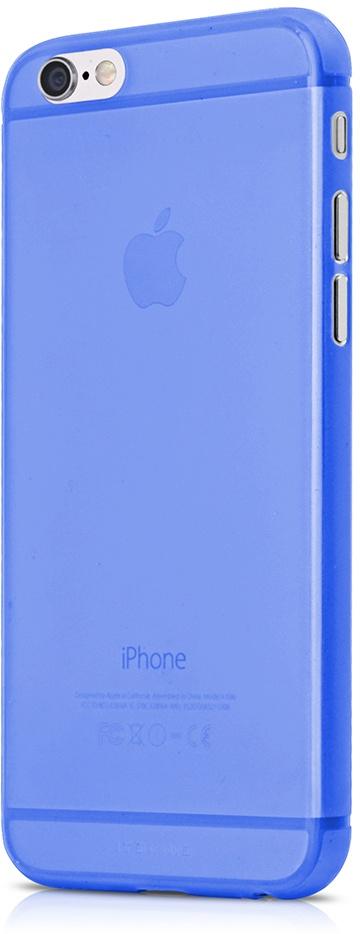 Чехол для сотового телефона Itskins Zero 360 APH6-ZR360-BLUE для iPhone 6, голубой аксессуар чехол накладка itskins для iphone 5c zero 3 пленка black 572610596