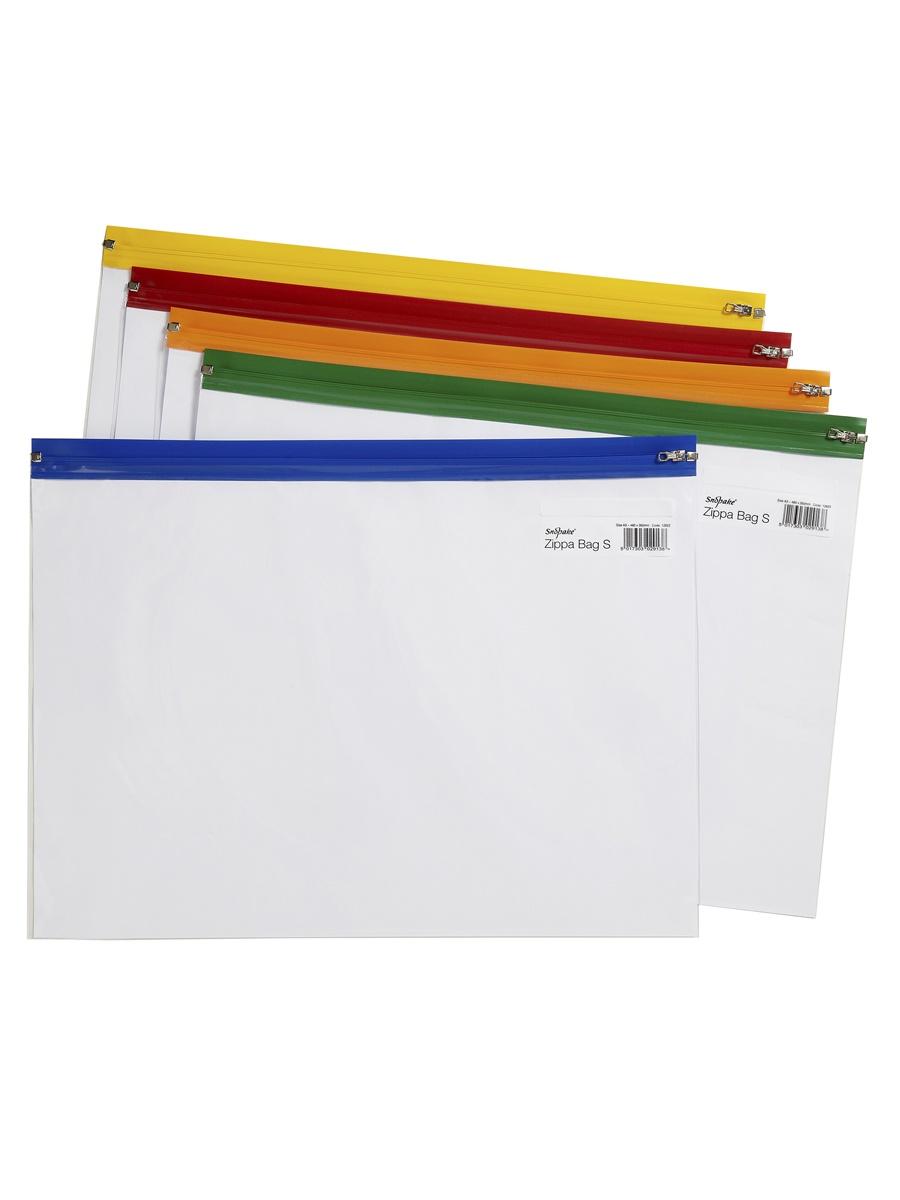 Папка Snopake 12814P, оранжевый, желтый, зеленый, синий, красный