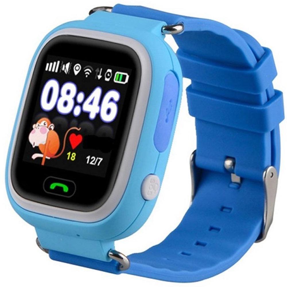 Умные часы для детей SBW Q80, голубой детские умные часы smart baby watch q90 голубой