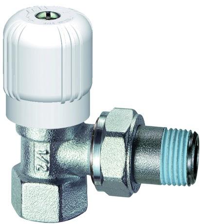 цена на Запорный вентиль FAR Вентиль регулирующий угловой 3/4 ВР, серый металлик