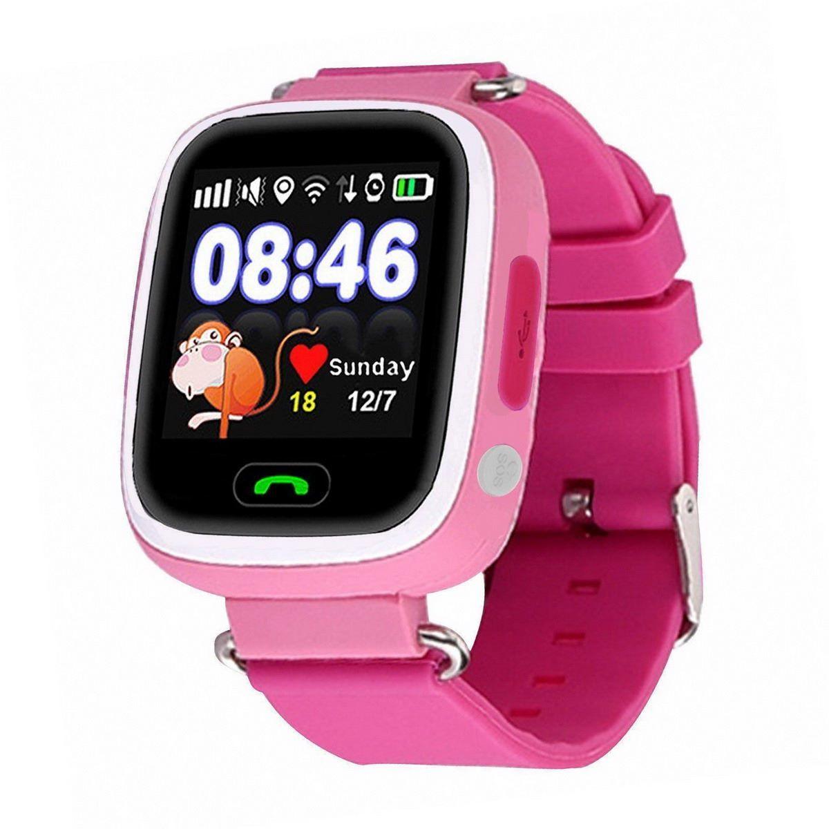 Умные часы для детей SBW Q80, розовый все цены