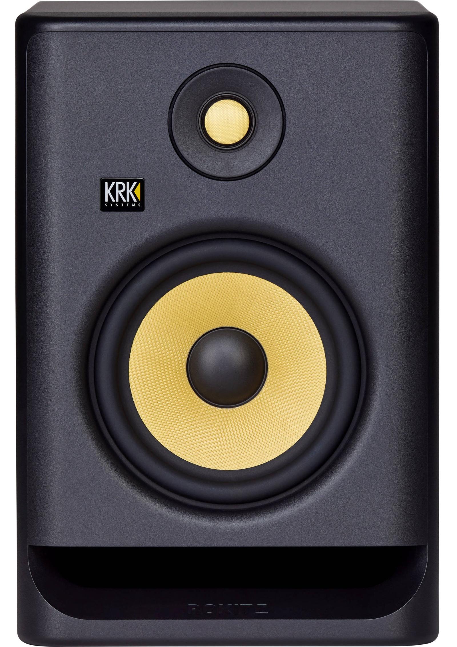 Мониторная акустика KRK RP7G4, черный krk rp4g3s silver