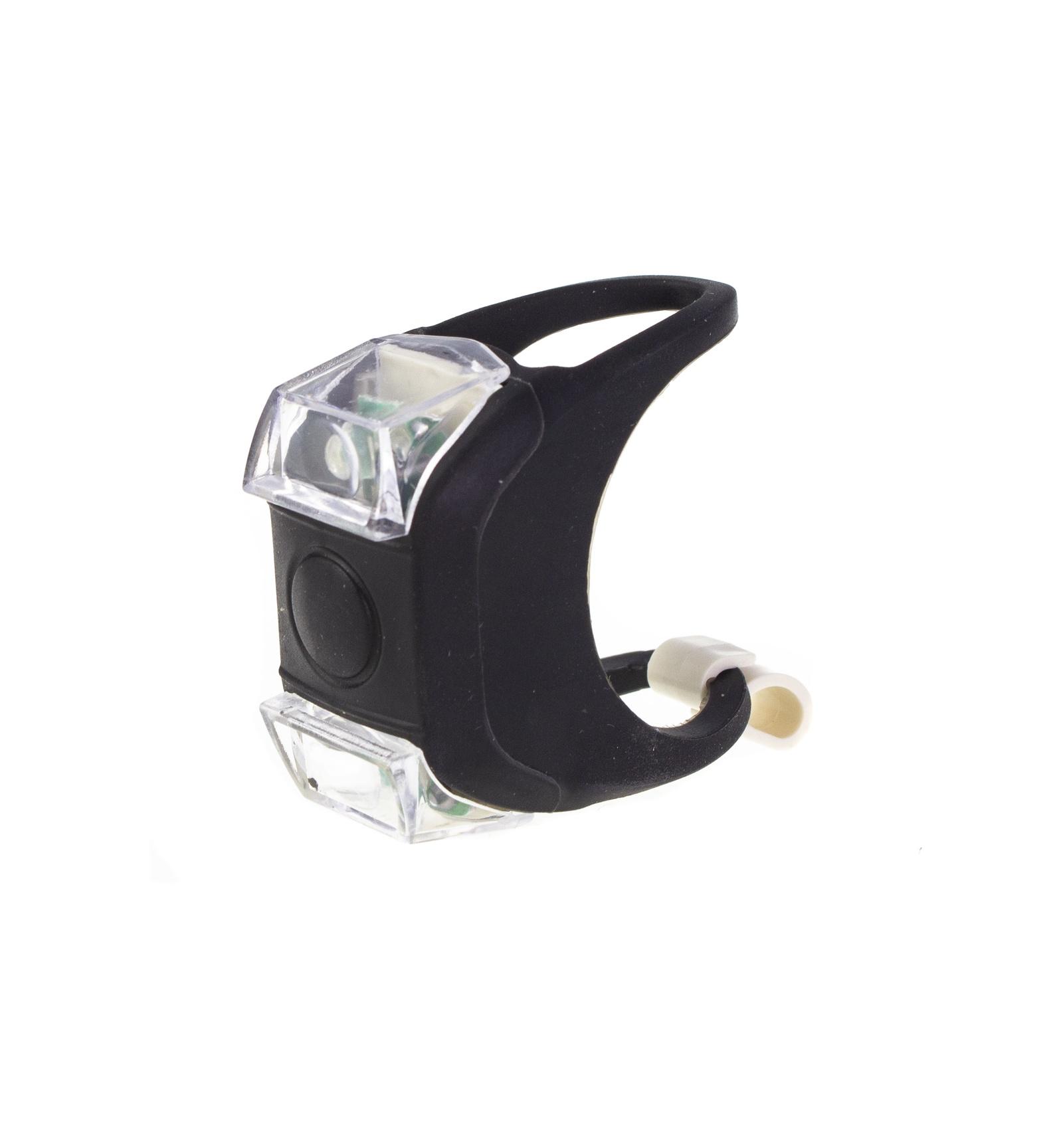 Велосипедный фонарь PROFFI AUTO PA0575 светодиодный, силикон, черный