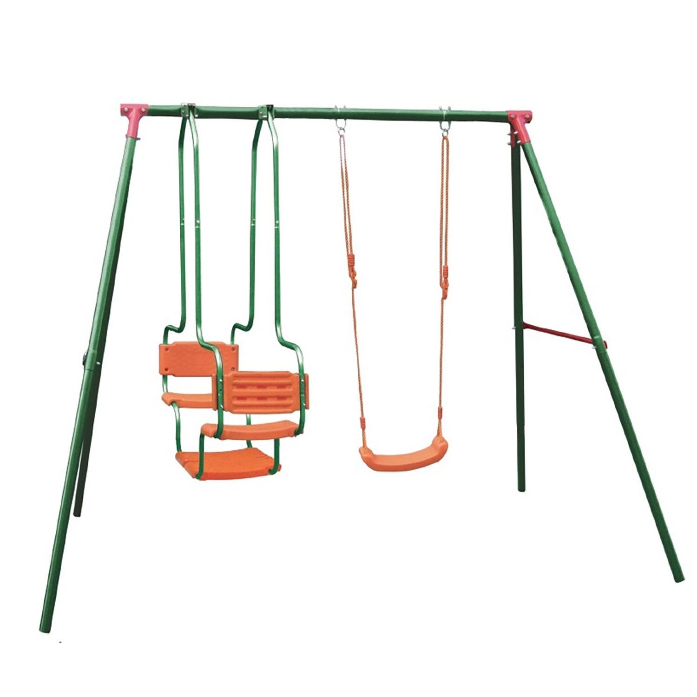 Игровой комплекс DFC LS-01 зеленый, оранжевый