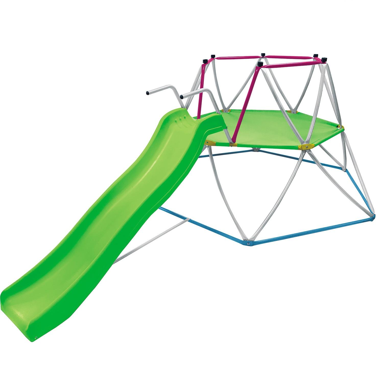 Детская горка DFC SC-01 зеленый, красный, синий, белый