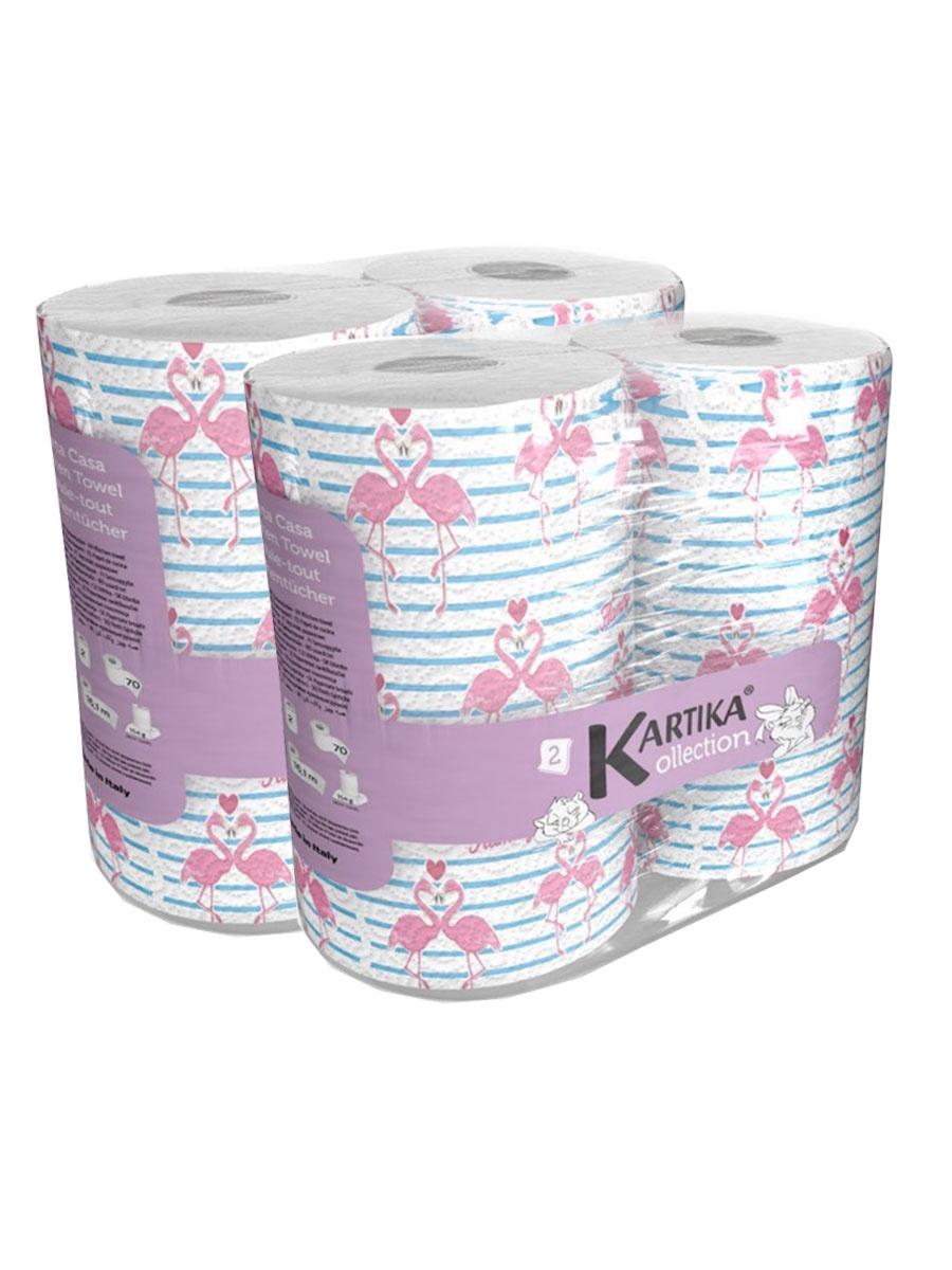 Бумажные полотенца World Cart FLM-KT-03/набор