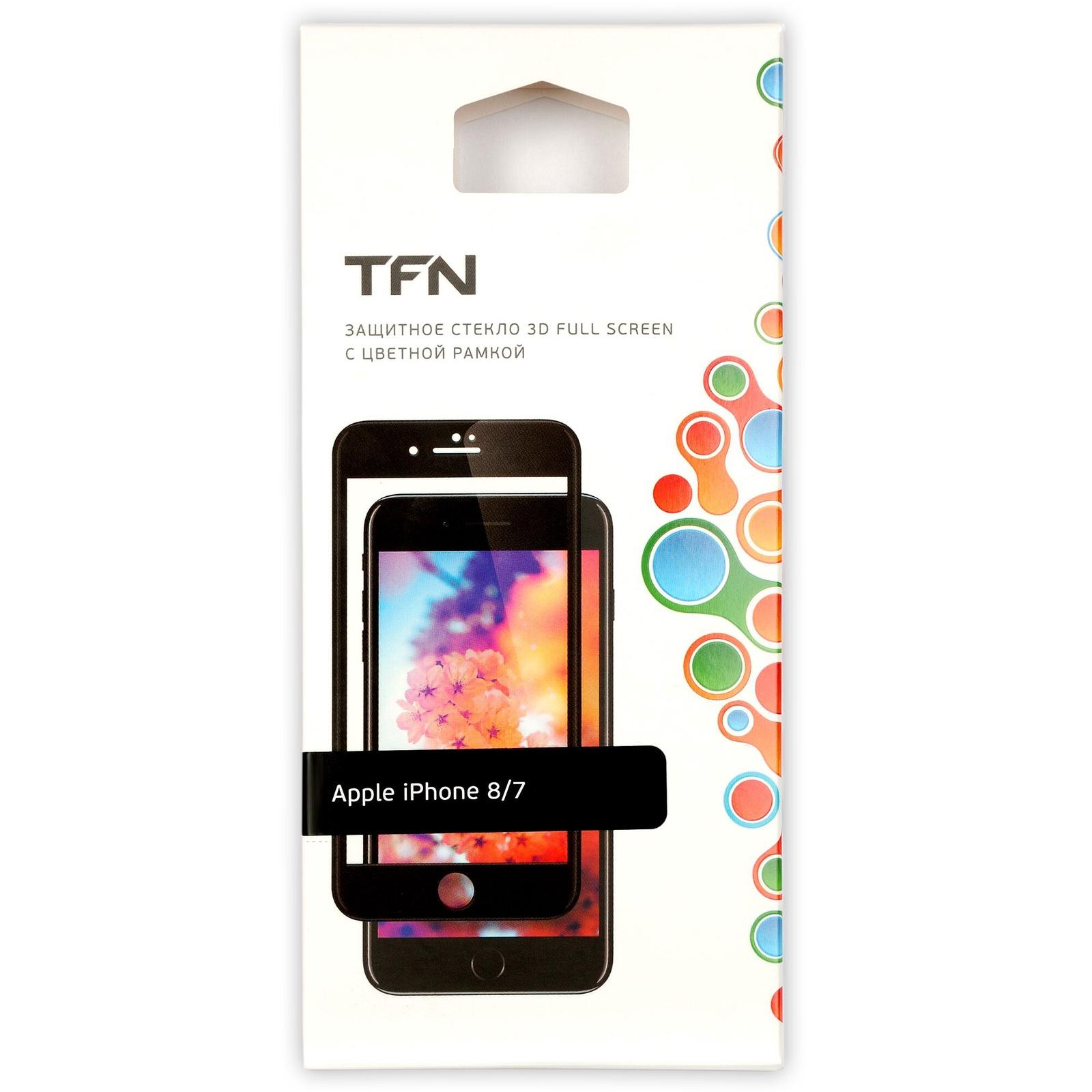 Защитное стекло TFN TFN-SP-07-006G3B, черный цена и фото