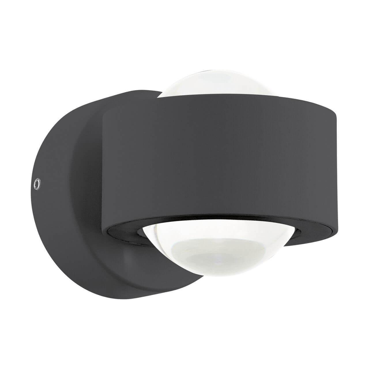 Настенный светильник Eglo 96049, черный eglo ono 1 93125