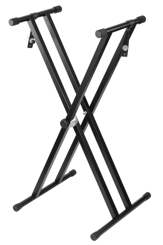 Стойка для муз. инструмента DEKKO JR-803, черный стойка для синтезатора tesler z type черный