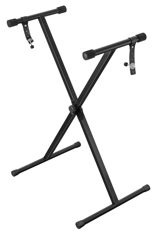 Стойка для муз. инструмента DEKKO JR-811, черный стойка для синтезатора tesler z type черный
