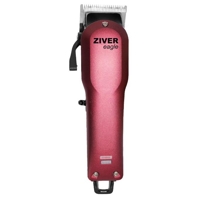 Машинка для стрижки Ziver аккумуляторно-сетевая ZIVER-216 Eagle, Цвет красный, красный машинка для стрижки животных ziver 210 аккумуляторно сетевая 10 вт