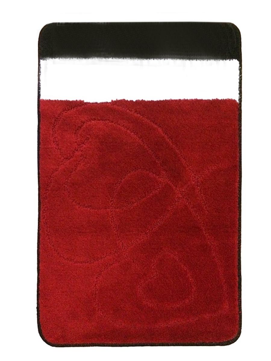 Коврик для ванной L'CADESI NIDA Красный, красный