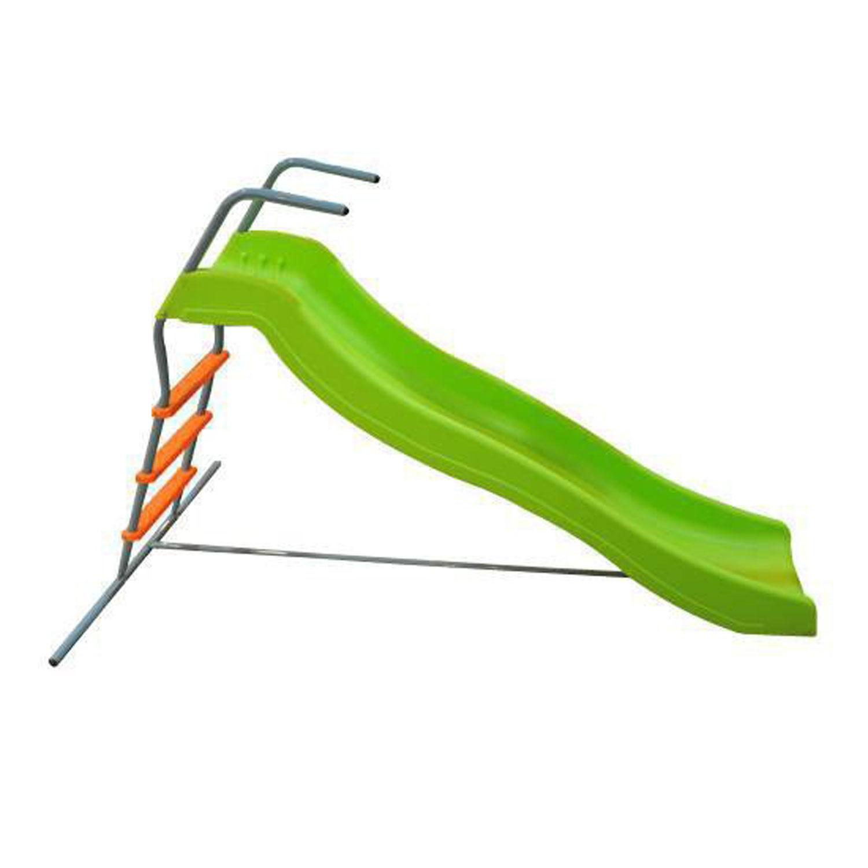 Детская горка DFC SL-02 зеленый, оранжевый цена