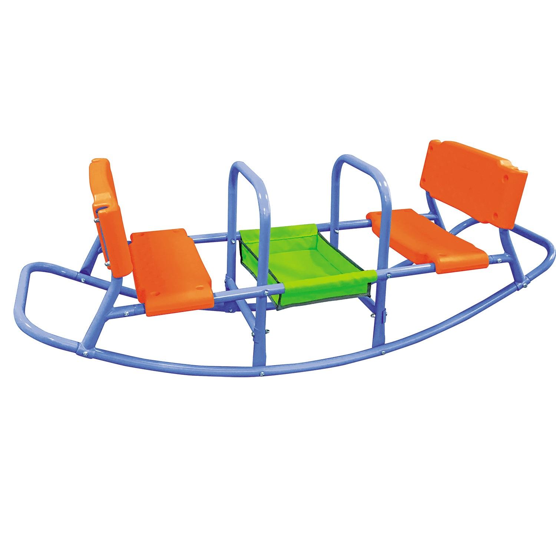 Детские качели DFC SE-03 зеленый, оранжевый, серый металлик все цены