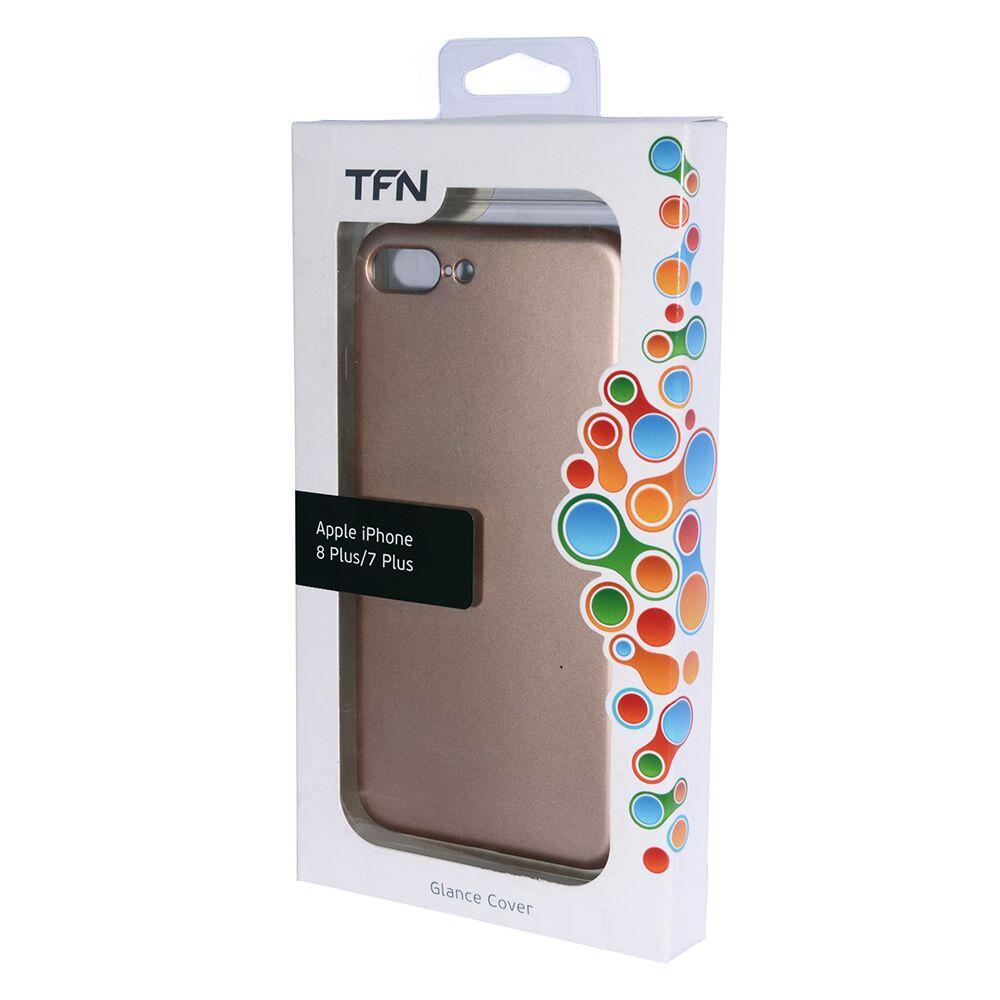 Чехол для сотового телефона TFN Защитный чехол для iPhone 7 Plus / 8 Plus Черный, черный чехол для сотового телефона uag monarch series case для iphone 6 plus 6s plus 7 plus 8 plus красный