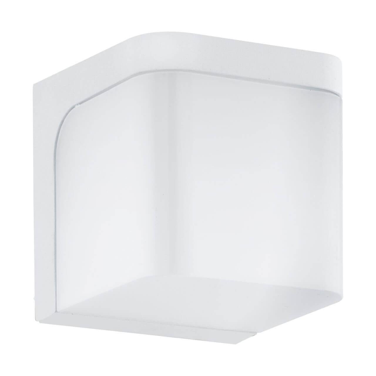 Уличный светильник Eglo 96255, белый уличный настенный светодиодный светильник eglo jorba 96256