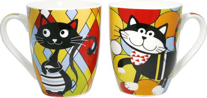 Кружка МФК-профит Cute Cats, 350 мл кружка мфк профит красные маки 350 мл