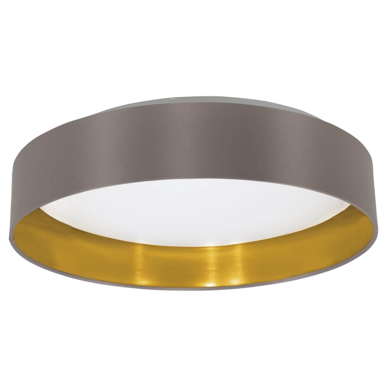 Настенно-потолочный светильник Eglo 31625, коричневый цена
