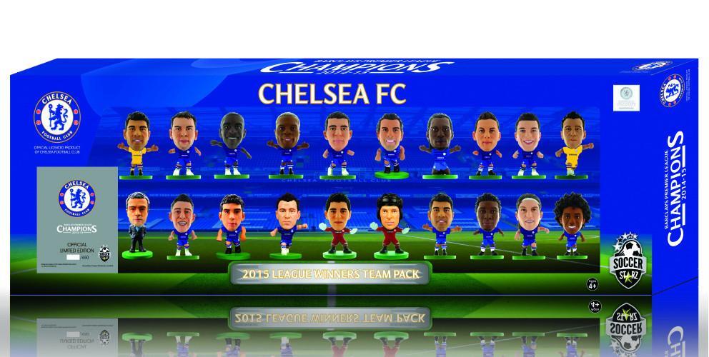 Фигурка SoccerStarz Набор футболистов ФК Челси Chelsea 2015 League Winners 20 Player Team Pack, 401898 цена в Москве и Питере