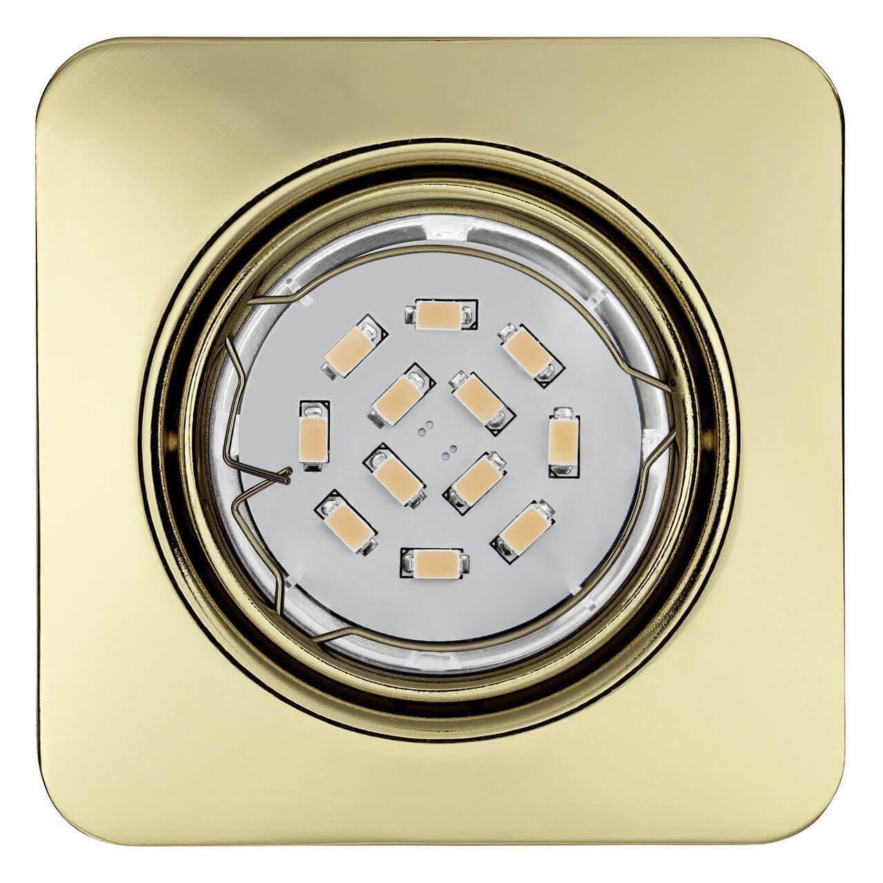 Встраиваемый светильник Eglo 94402, желтый встраиваемый светильник eglo 94402 желтый