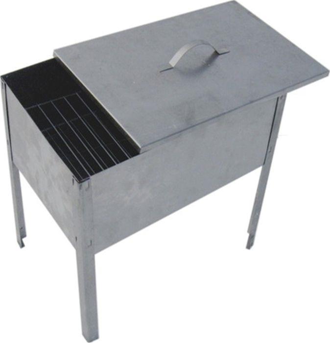 Мангал-коптильня Домашний Сундук, ДС-174 + 6 шампуров коптильня мангал амет