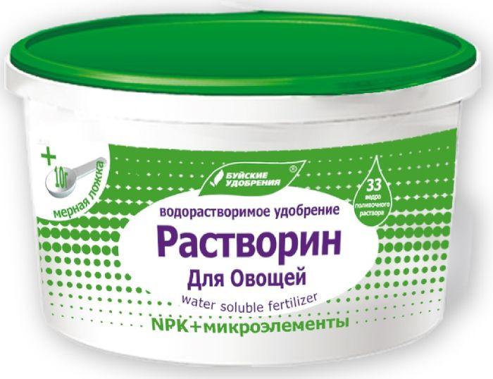 Удобрение Буйские удобрения Растворин Для овощей, 0,5 кг удобрение биона водорастворимое комплексное лук чеснок 50г