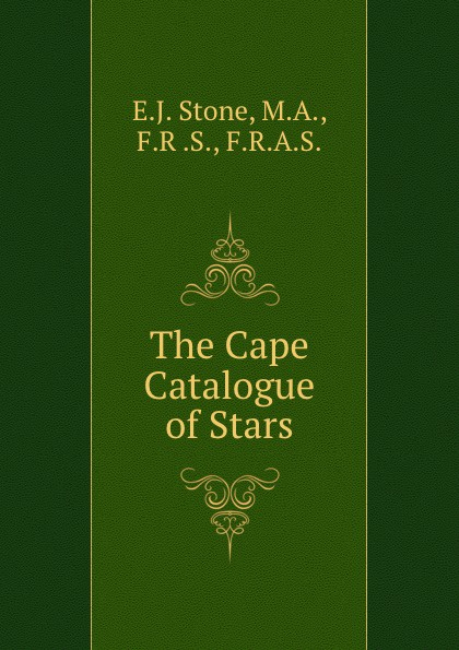 E.J. Stone The Cape Catalogue of Stars скальп петуха veniard chinese cock cape
