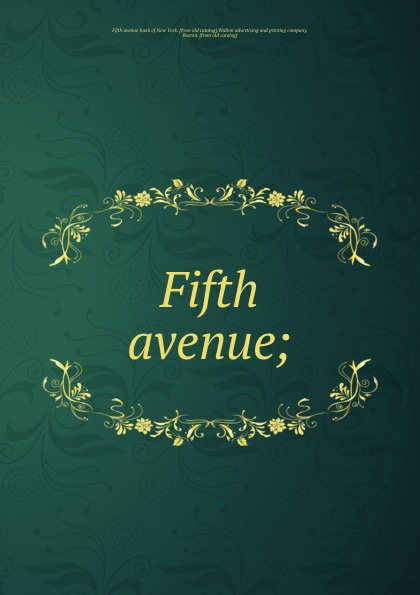 Фото - Fifth avenue; the swans of fifth avenue