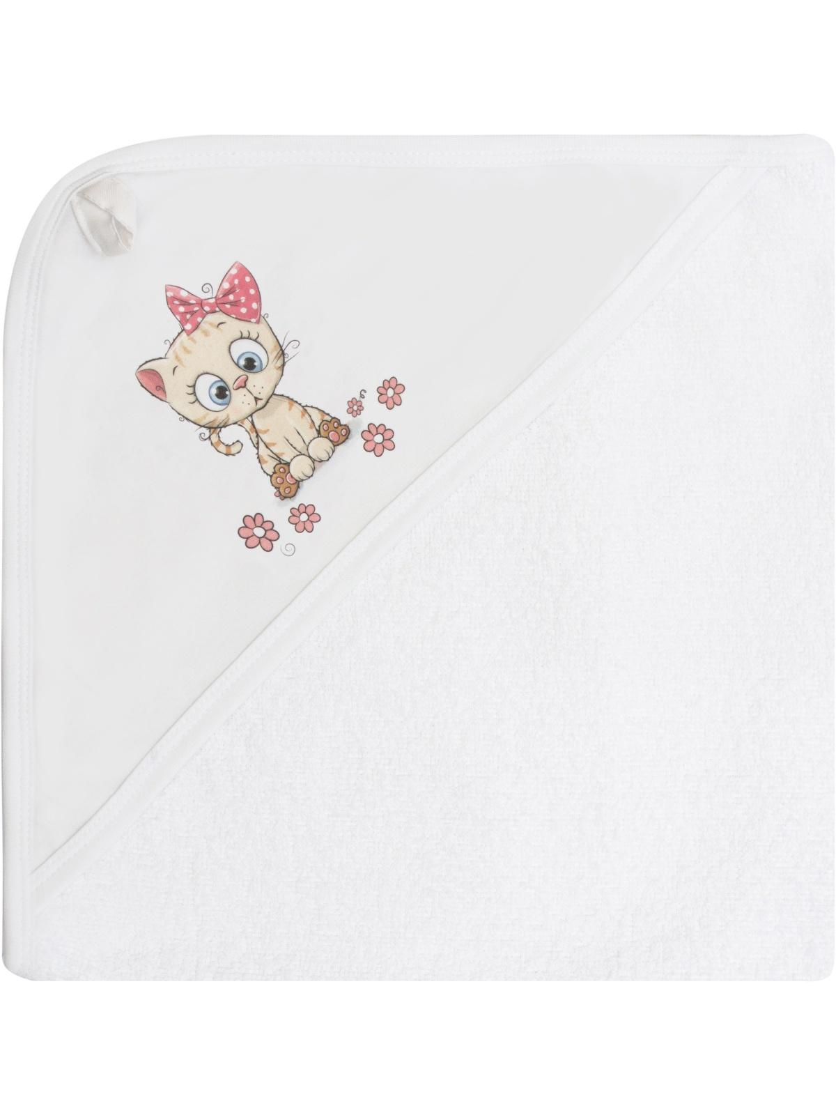 цена на Полотенце детское Luxury Baby Полотенце с уголком и принтом